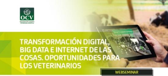TRANSFORMACIÓN DIGITAL, BIG DATA E INTERNET DE LAS COSAS. OPORTUNIDADES PARA LOS VETERINARIOS